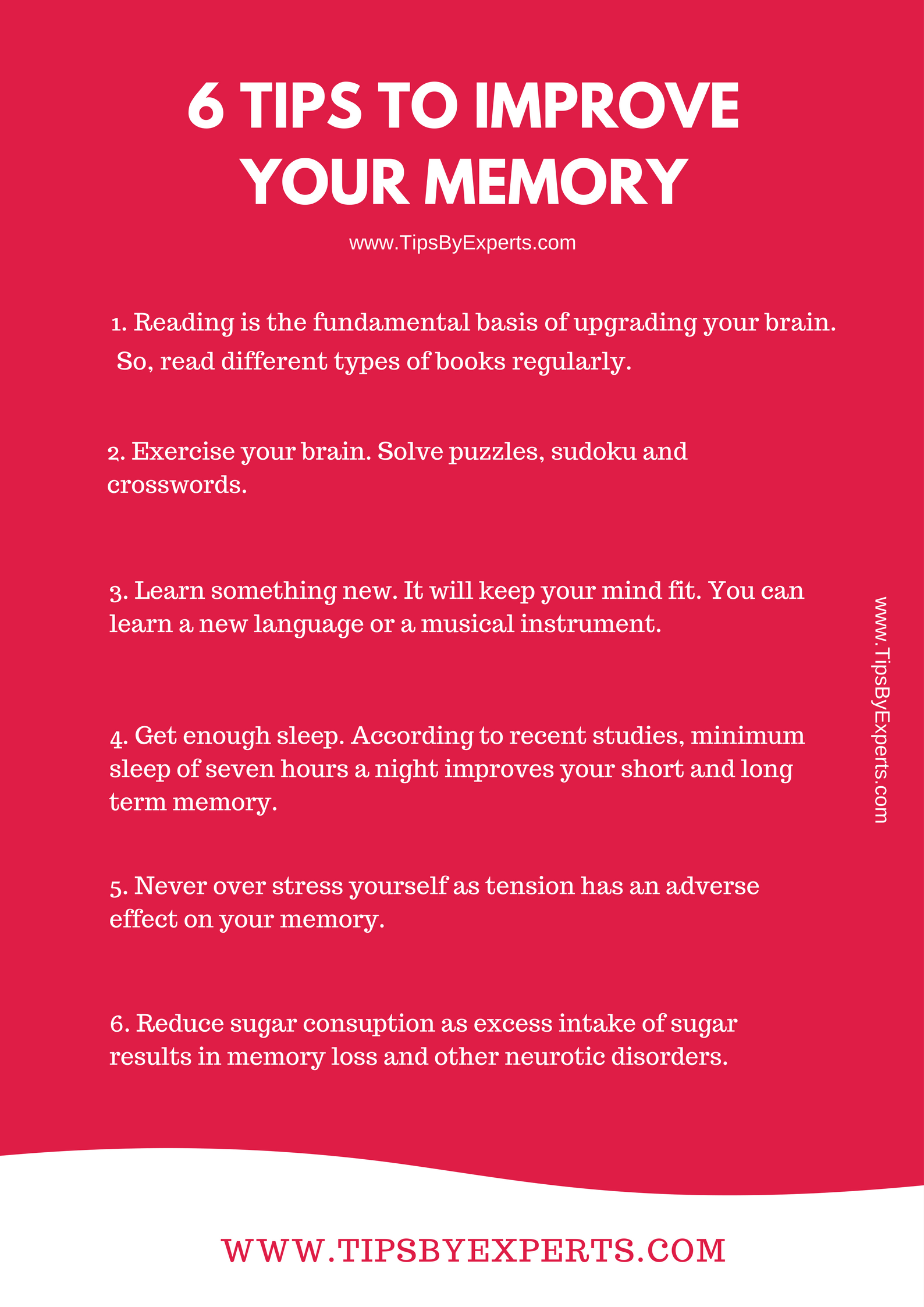 6 tips to improve your memory